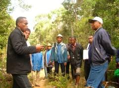Le Ministre très attentif au processus d'implication des communautés à la conservation