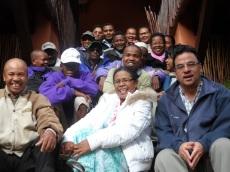 Les représentants des Associations Paysannes regroupées au sein du GIE SAHANALA