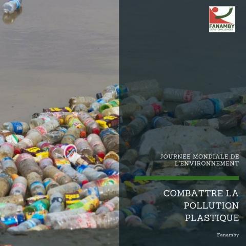 COMBATTRE LA POLLUTION PLASTIQUE